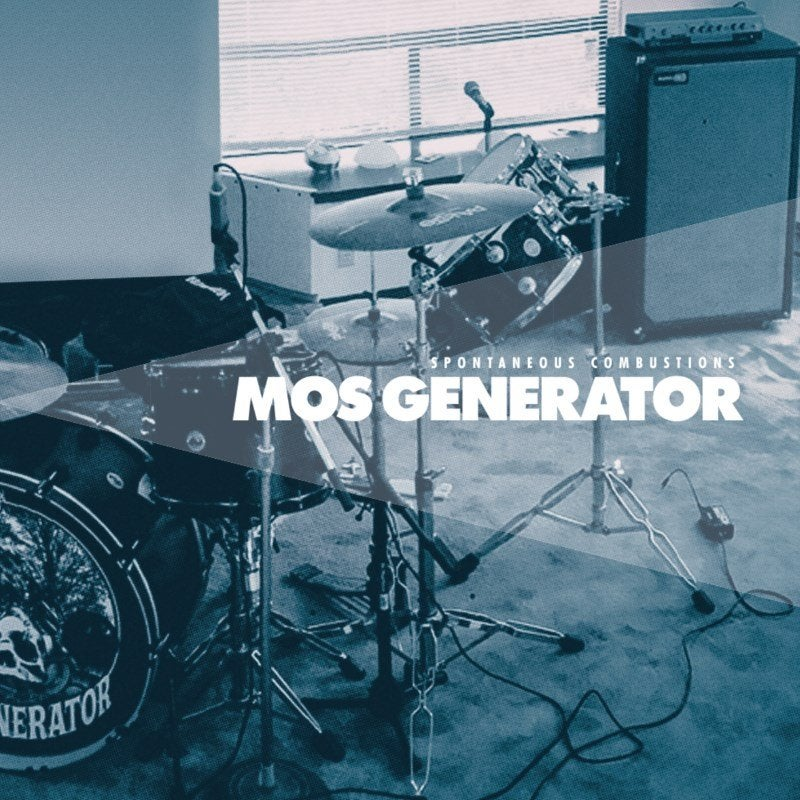 Image of MOS GENERATOR - Spontaneous Combustions white/blue marbled vinyl