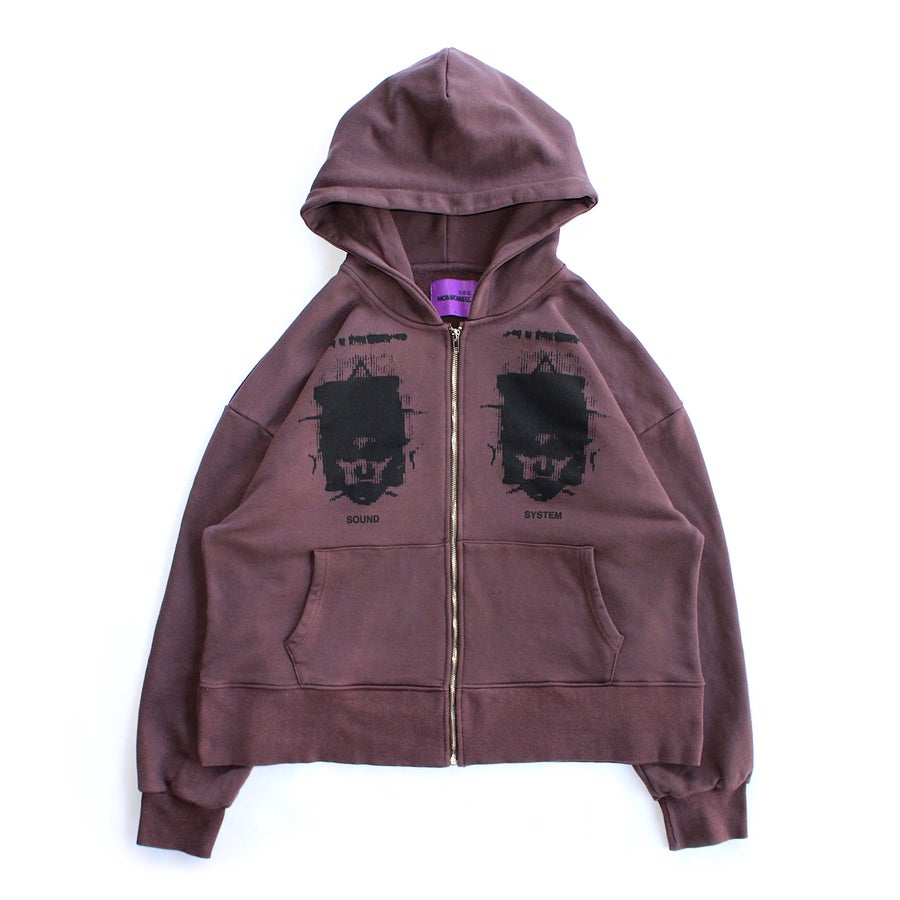 Image of SOUND SYSTEM HOODIE (OAK)