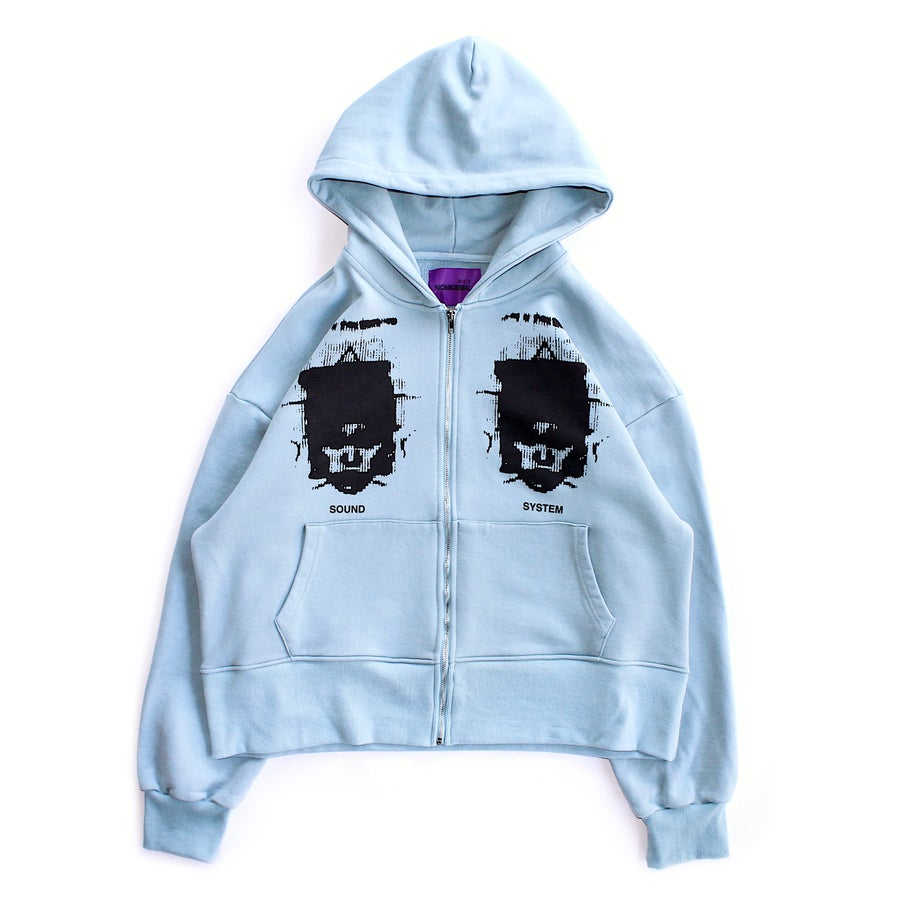 Image of SOUND SYSTEM HOODIE (SLATE)