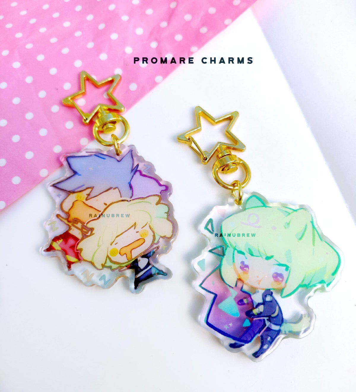 Image of Promare | 2 inch charms