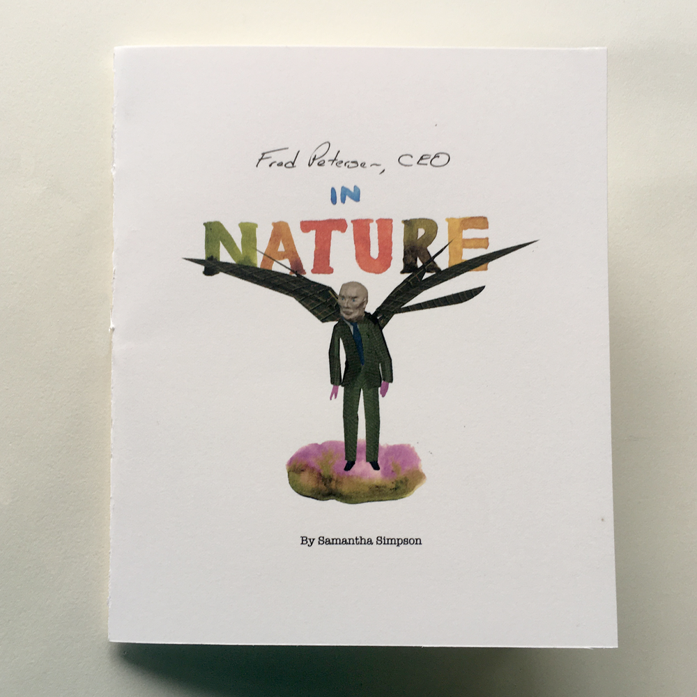 Image of Fred Peterson, CEO in Nature Book