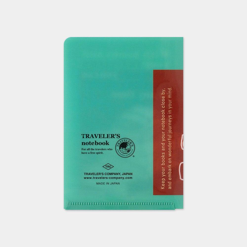 Image of Traveler's Company 2021 Passport Plastic Folder (PRE-ORDER Ships 9/30)