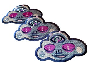 Image of Clarity Cloud Iron on Patch