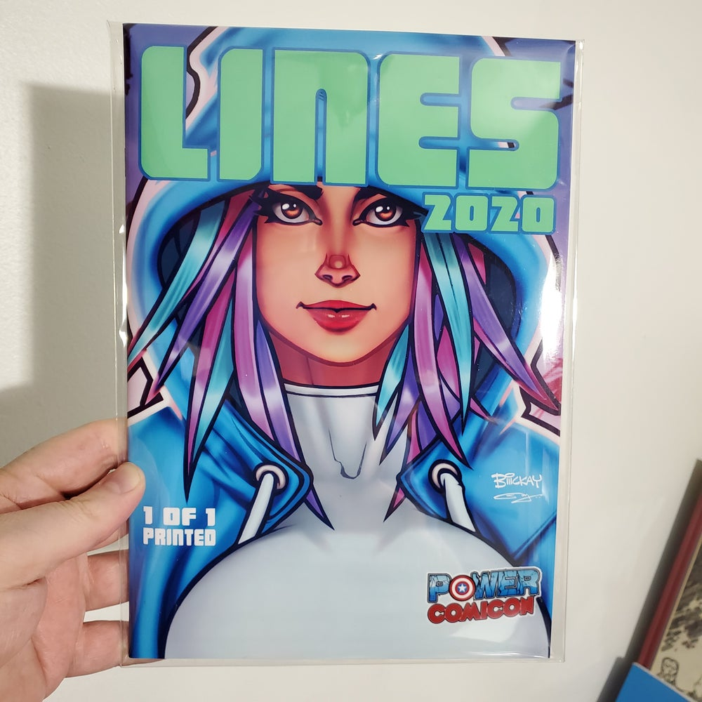 Image of Lines 2020 Power Comicon Exclusive 1/1