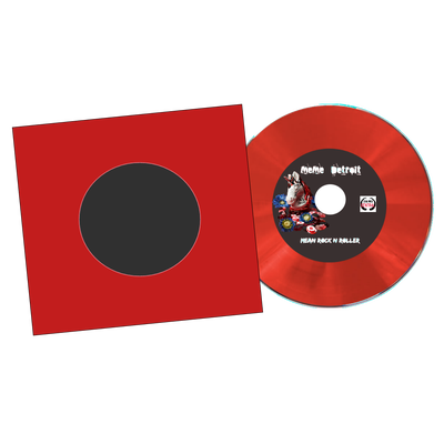 Image of Signed Mean Rock N Roller Limited edition CD
