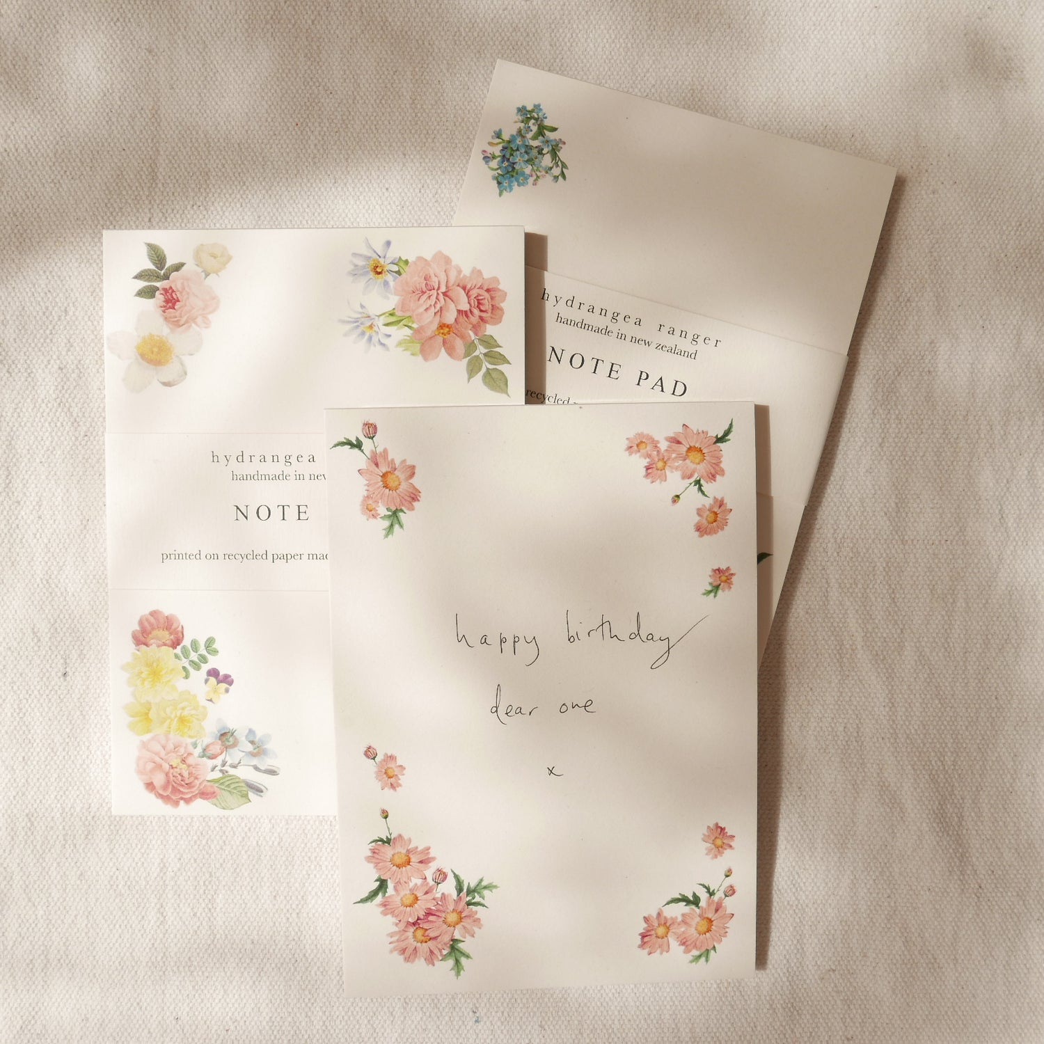 Image of Floral Notepads