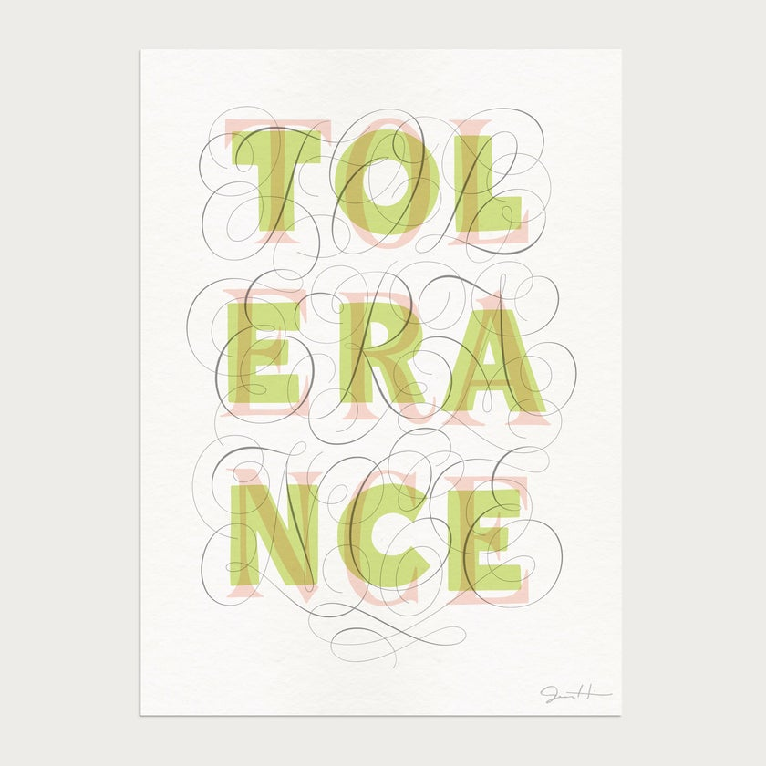 Tolerance Limited Edition