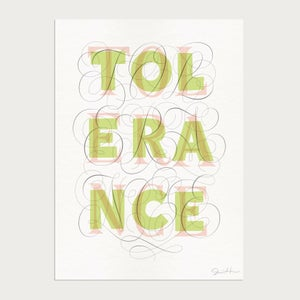 Image of Tolerance Limited Edition