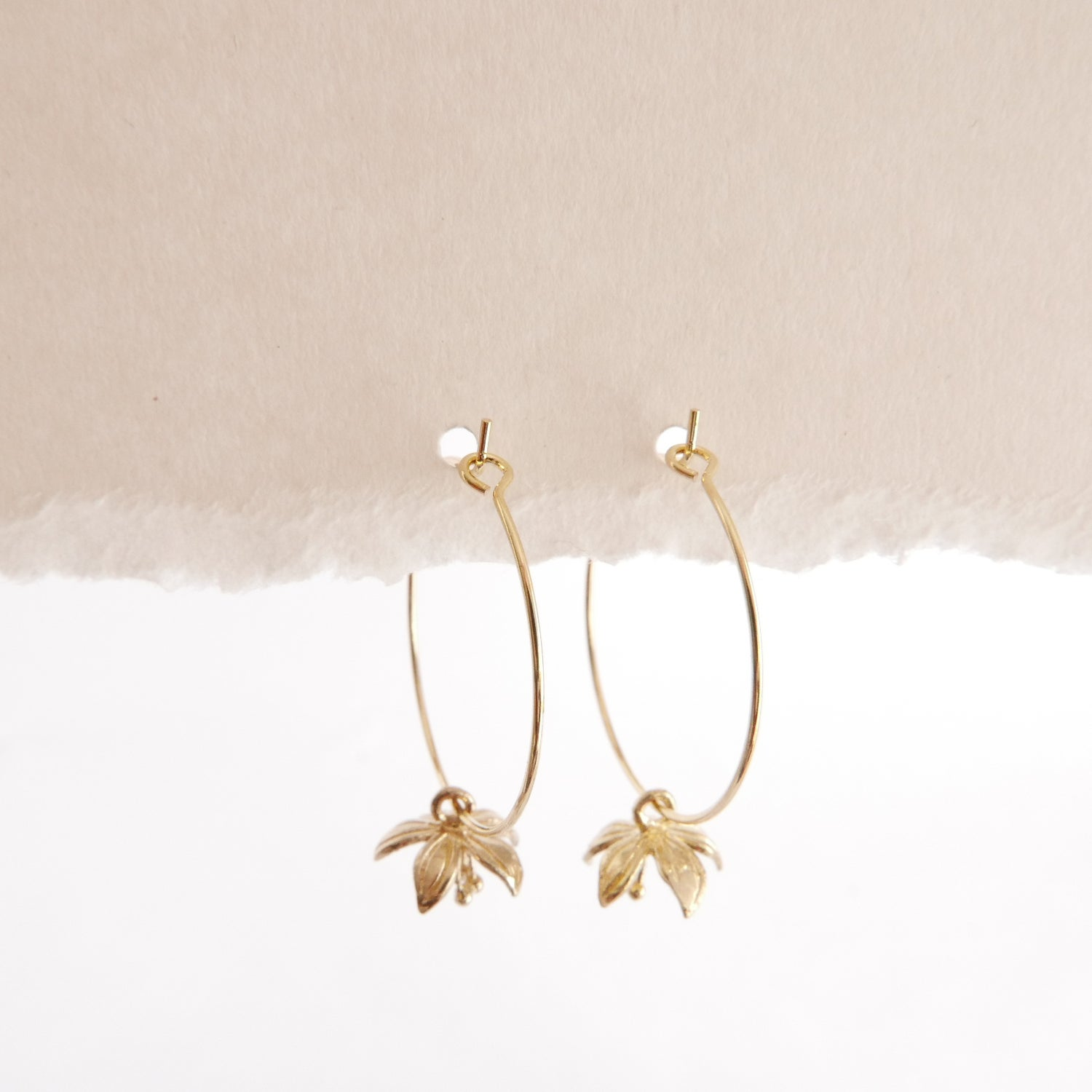 Image of Goodheart Hoops - Flowers