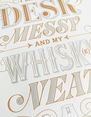 Image of Whisk(e)y Neat