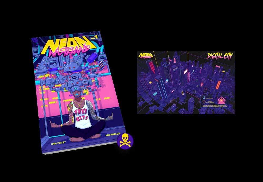Image of PRE-ORDER - Neon Wasteland Volume #1 Starter Pack