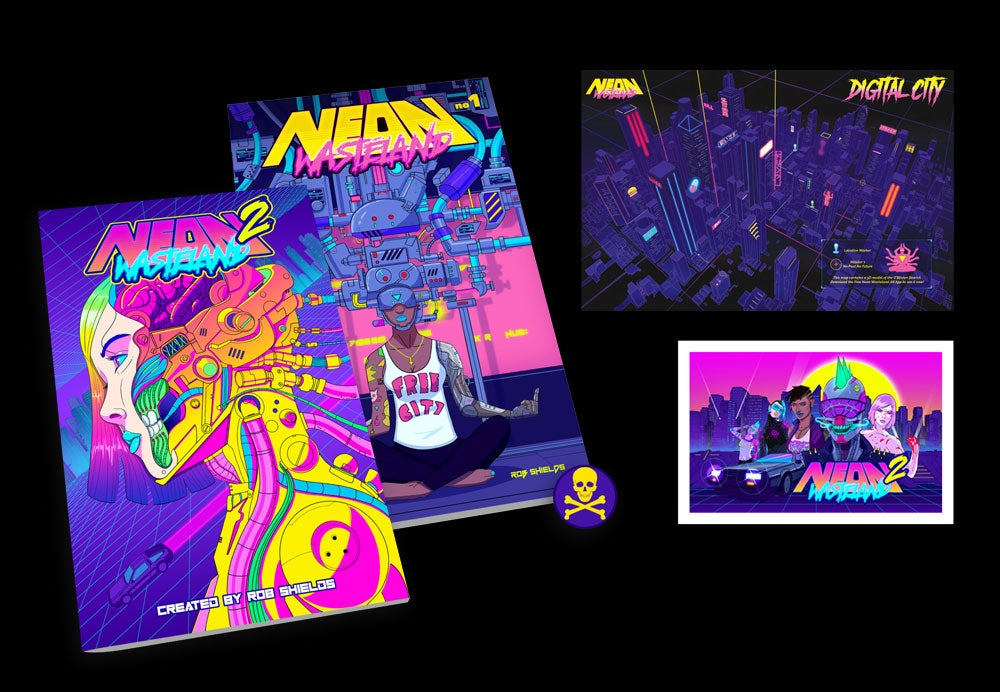 Image of PRE-ORDER - Neon Wasteland Volumes 1 & 2