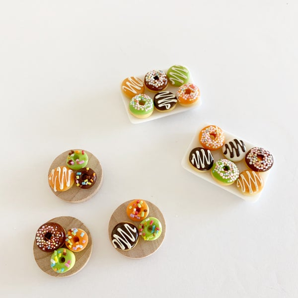 Image of Dollhouse Halloween Donuts