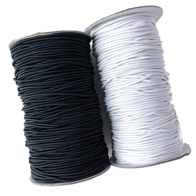 Image of 2mm Round Elastic - 5 metre Bundle