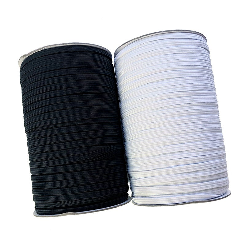 Image of 5mm Flat Elastic - 5 metre Bundle