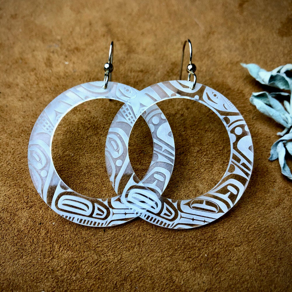 Image of Beast Collective Earrings (White)
