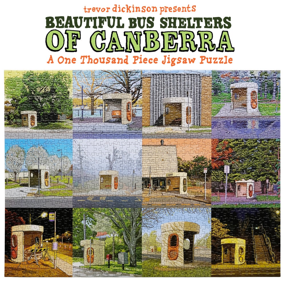 Image of Beautiful Bus Shelters Jigsaw