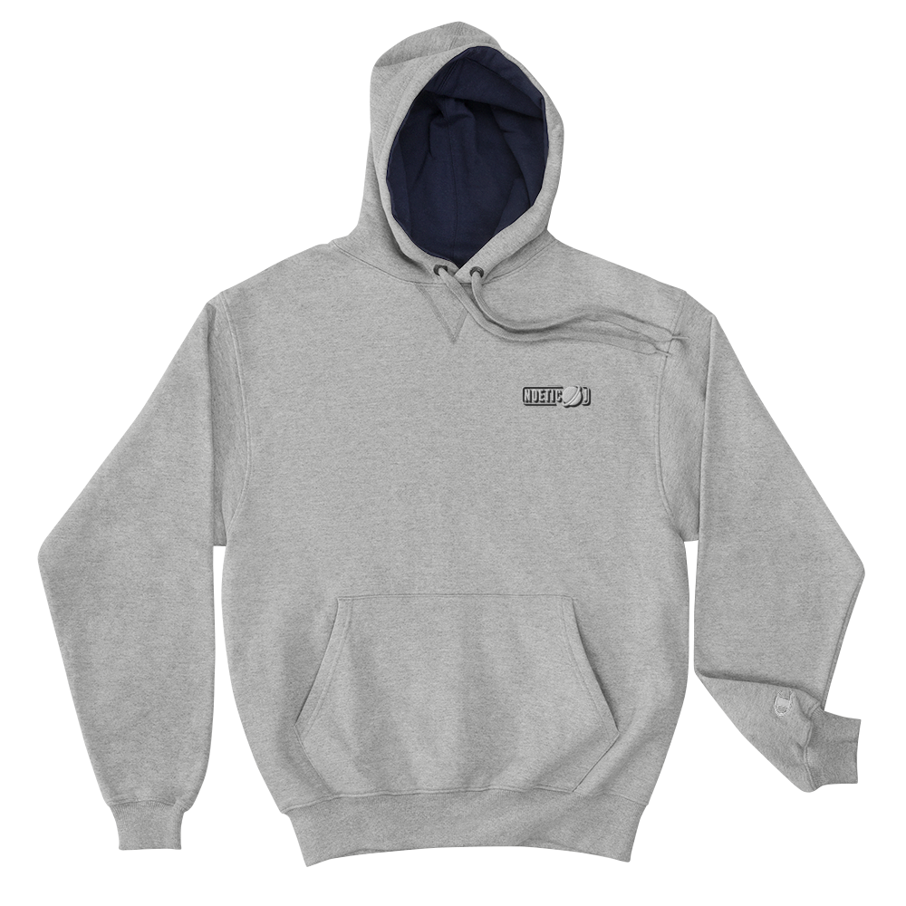 Noetic J Embroidered Champion Hoodie