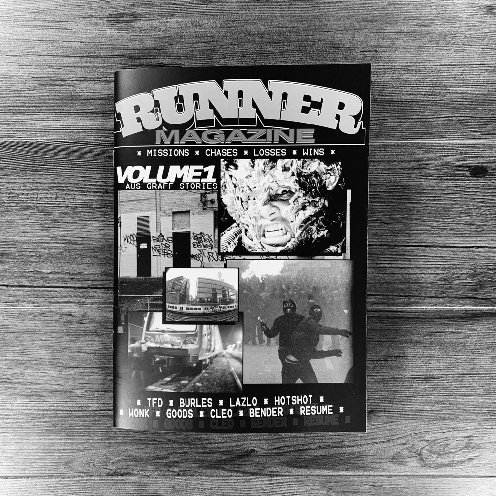 Image of RUNNER MAGAZINE- VOLUME 1.