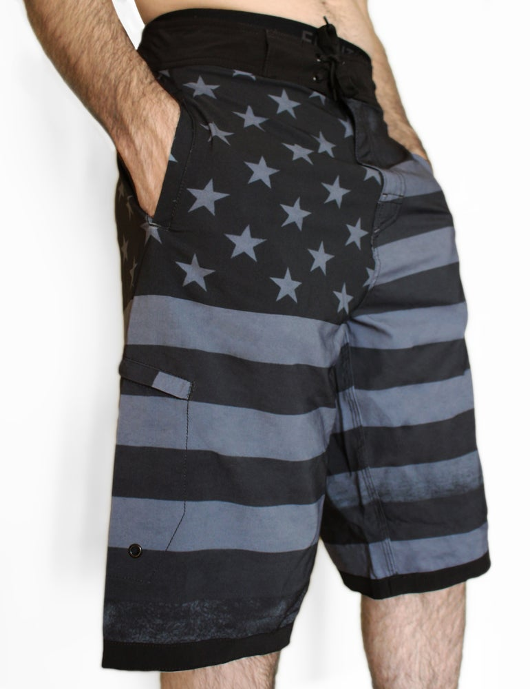 Image of proud to be american tall shorts