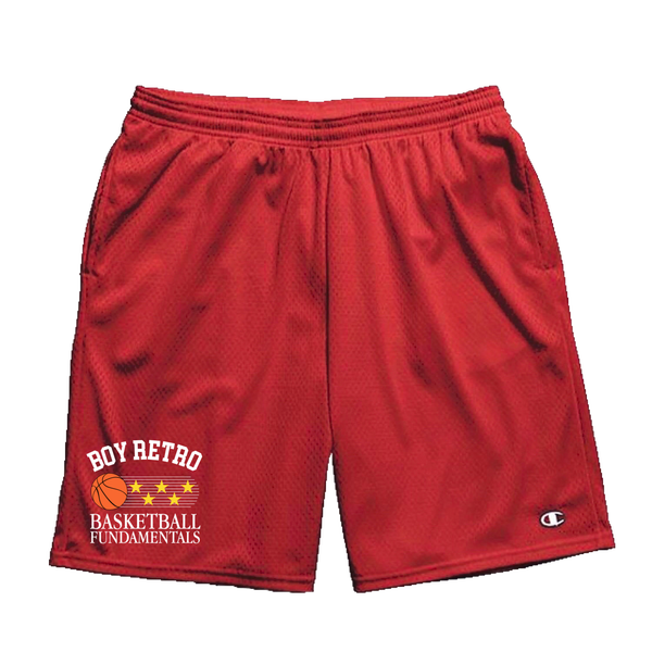 Image of Red Fundamentals Shorts