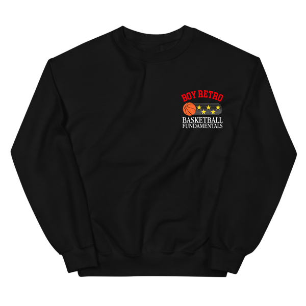 Image of Black Fundamentals Crewneck