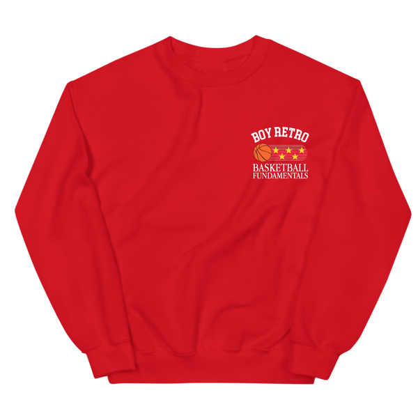 Image of Red Fundamentals Crewneck