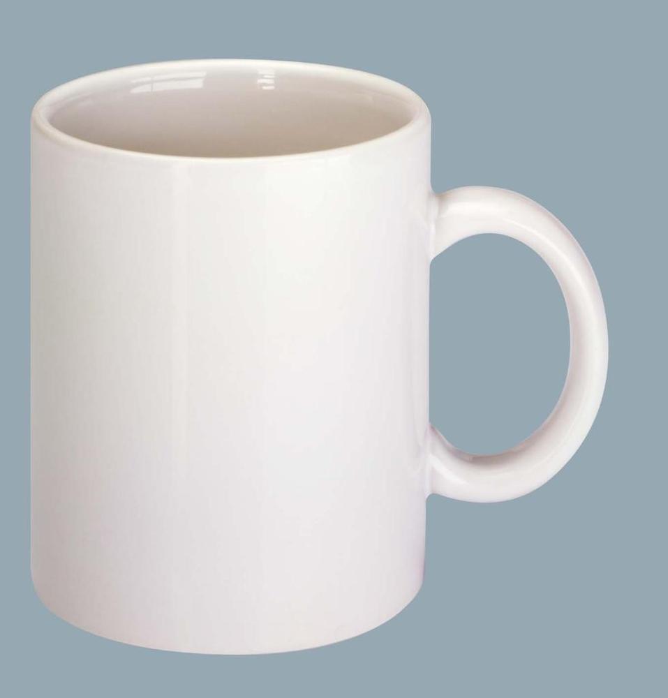 Image Of Plain White Mug