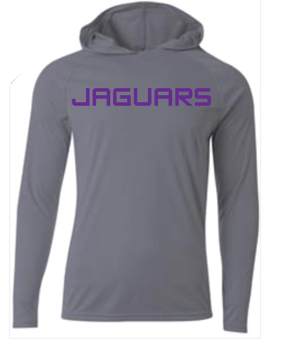 Image of DC JAGUARS Cooling Hooded Shirt