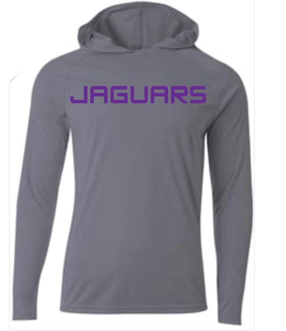Image of DC JAGUARS Cooling Hooded Shirt