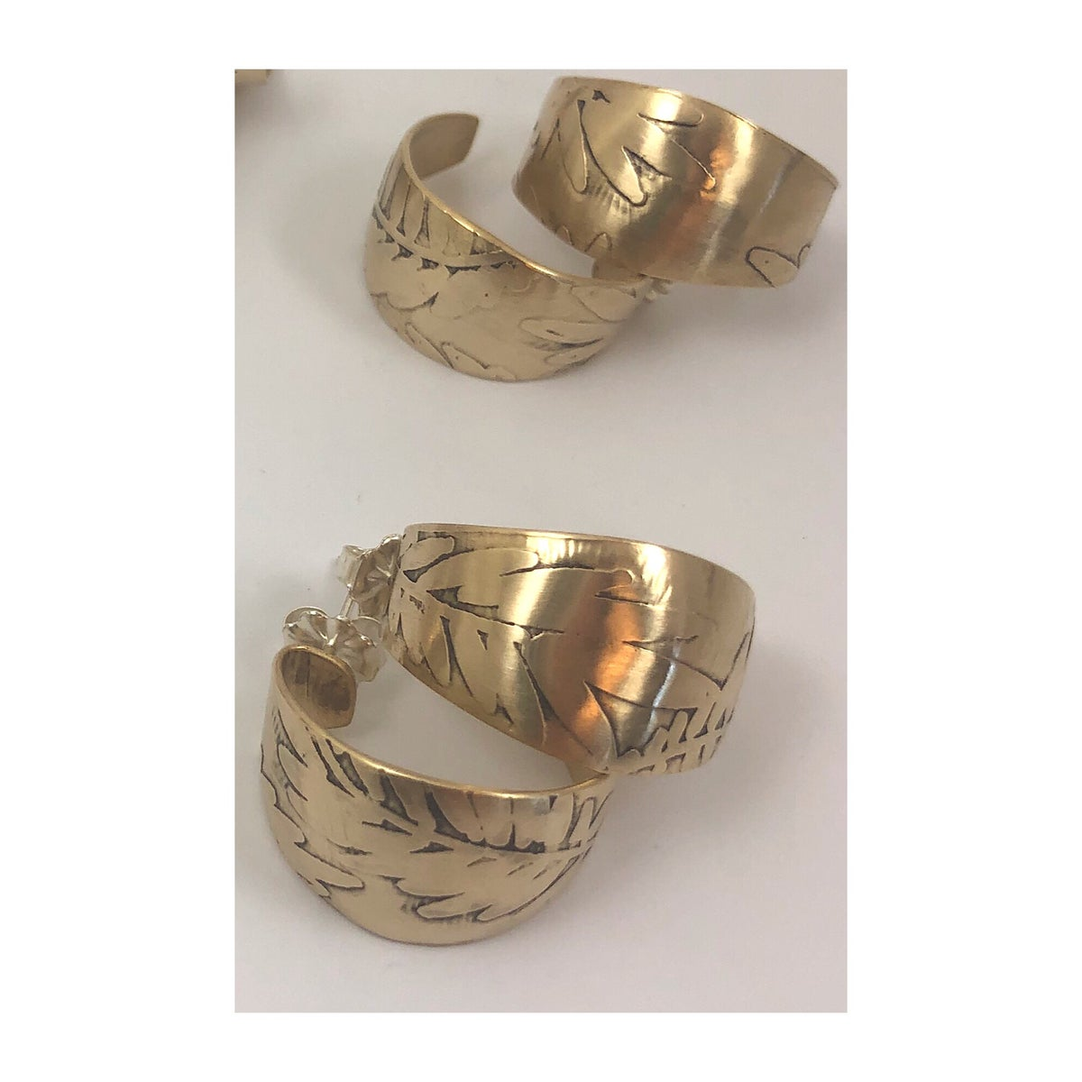 Image of Small Foliage Hoops
