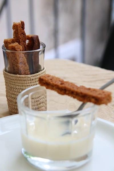 Image of crème anisée et mouillettes de pain d'épices