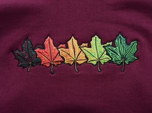 Image of Fall Leaves Hoodie