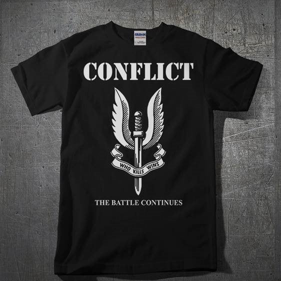 Image of CONFLICT - The Battle Continues
