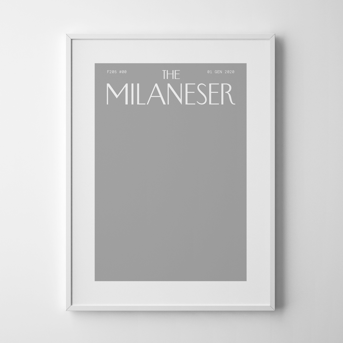 Image of The Milaneser #00