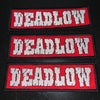 Dead Low Embroidered Patch