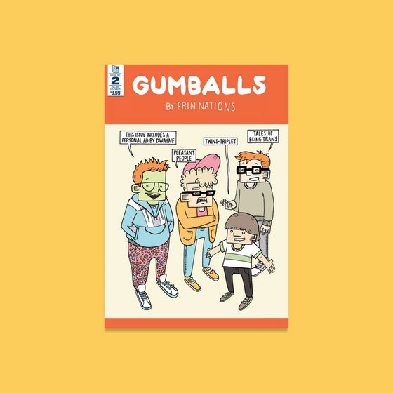 Image of Gumballs (Issue #2) - SIGNED COPY