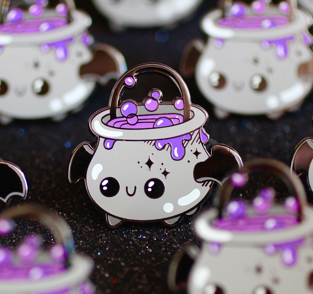 The Spooky Squad - Halloween Pin Bundle with Free Sticker