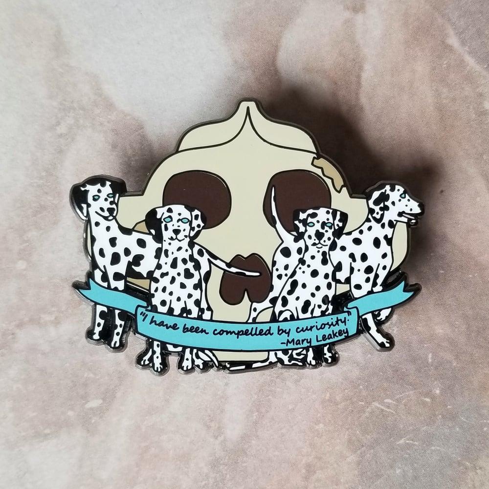 Image of Leakey's Dalmatians pin