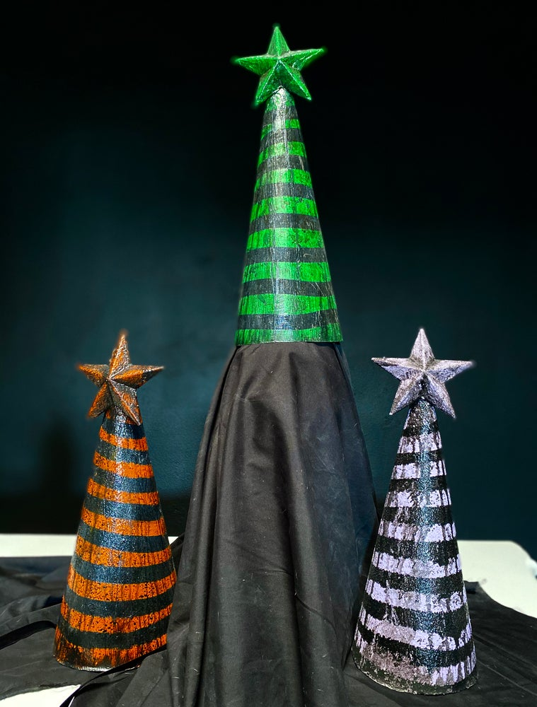Image of Halloween special edition dunce caps
