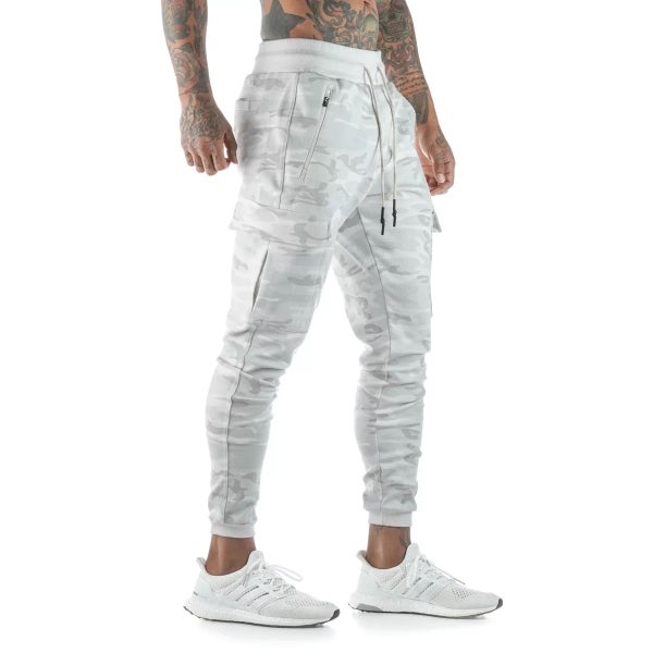 Image of WARRIOR JOGGER WHITE CAMO
