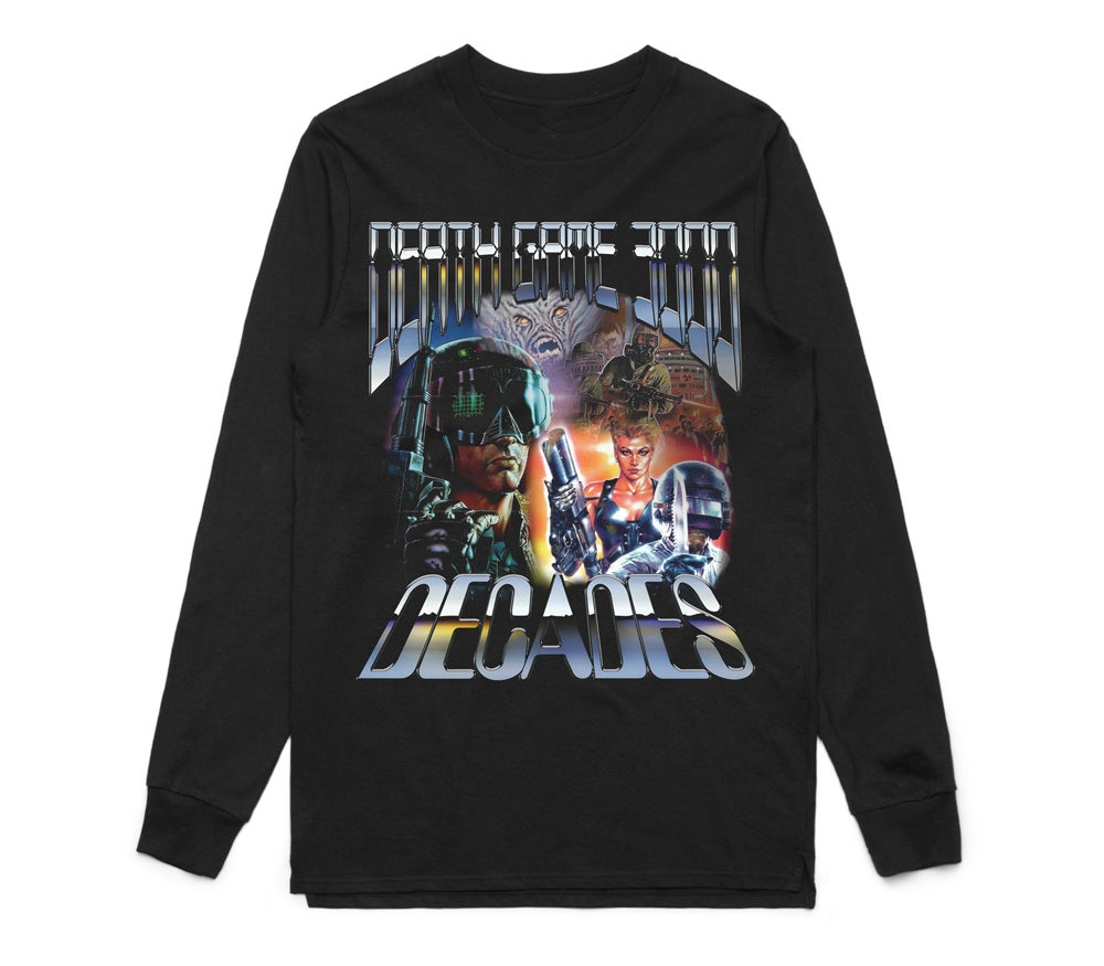 Image of Death Game 3000 Long Sleeve Tee