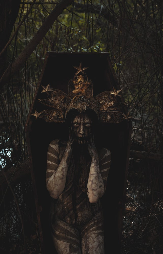 Image of Dissected Pain - Rotten Cathedral headdress
