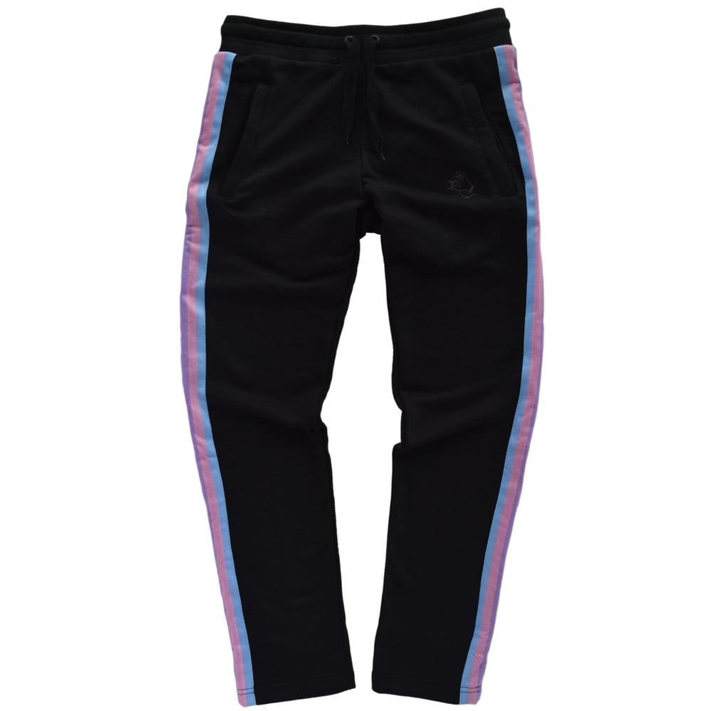 Image of Black Rainbow Pants