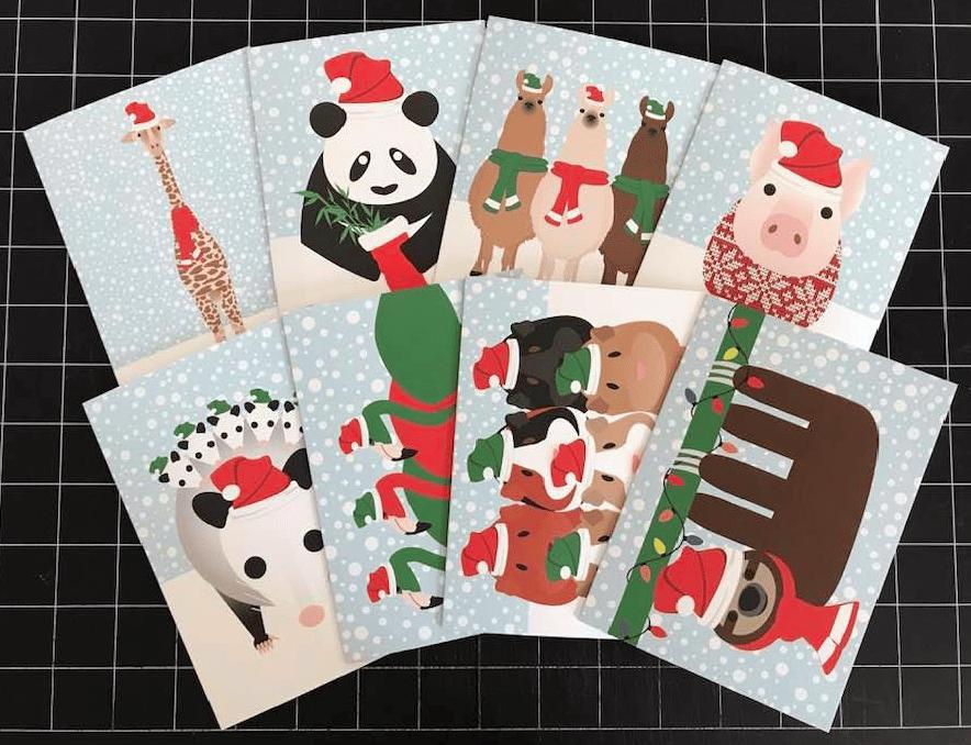 HOLIDAY GREETING CARD PACKS