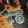 Individual Medusa Stickers