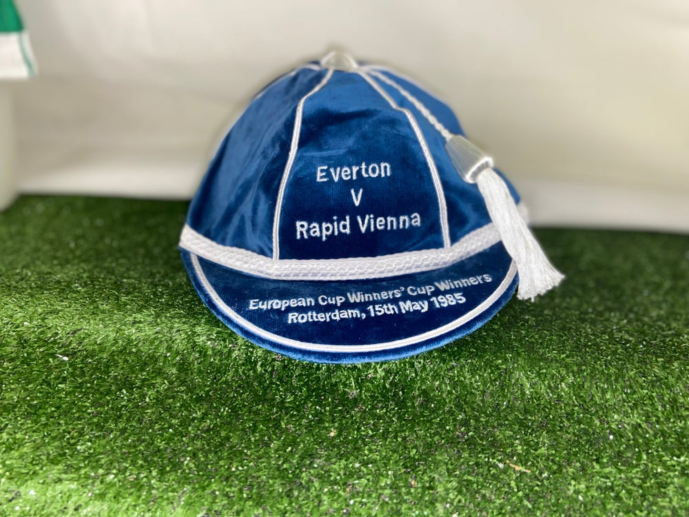 Image of Everton European Cup Winners Cup Winners Commemorative Cap