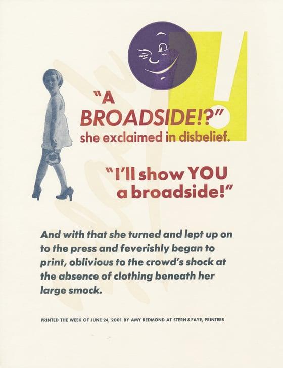 Image of A Broadside?!