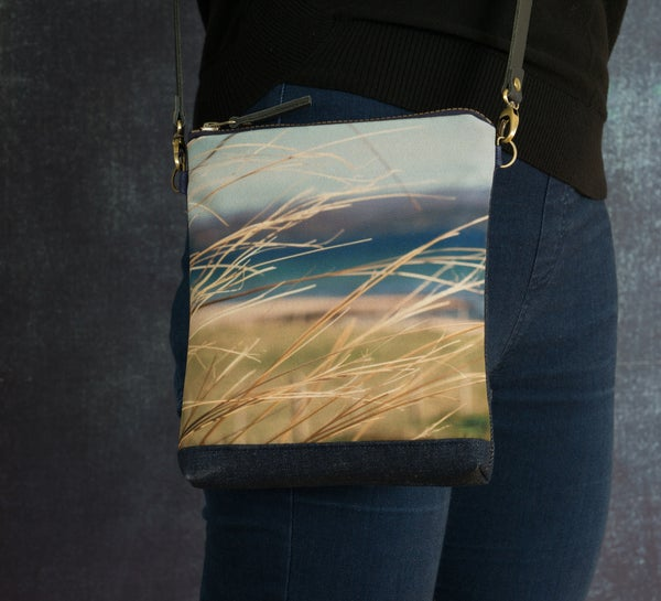 Image of Marram grasses cross-body shoulder bag
