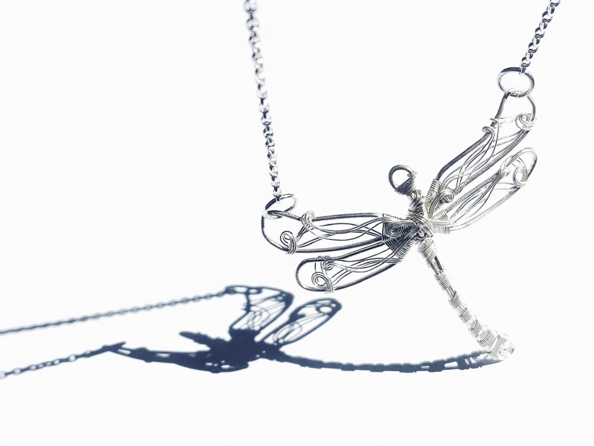 Image of Dragonfly Necklace